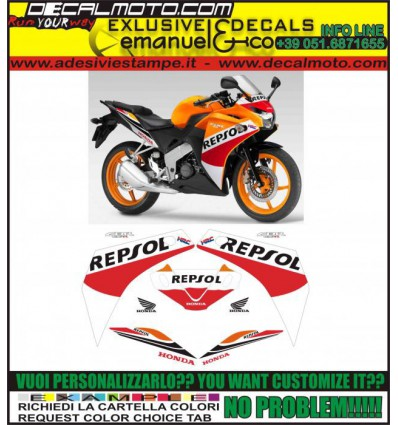 CBR 125 R 2015 REPSOL