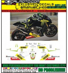 R1 R6 REPLICA MOTO GP TEAM TECH3 MONSTER