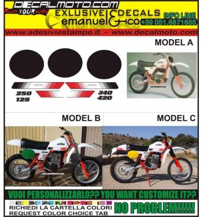 MX 125 250 340 420 1980 GS