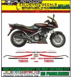 FJ1200 1986 BLACK