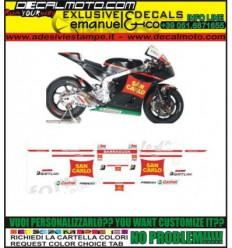 CBR REPLICA 600 1000 RR F TEAM GRESINI SAN CARLO 2012