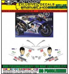 YZF R1 R6 REPLICA MOTO GP M1 2009 LUPIN III