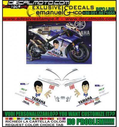 R1 R6 REPLICA MOTO GP M1 2009 LUPIN III