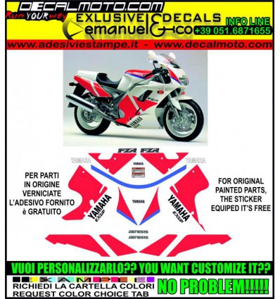 FZR 1000 1991 WHITE