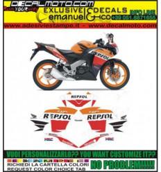 CBR 125 R 2012 REPSOL
