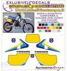 WRK 125 250 1989 - Husqvar