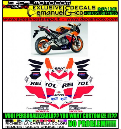 CBR 1000 RR 2009 REPSOL FIREBLADE