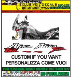 CRF 1000L AFRICA TWIN CUSTOMIZE