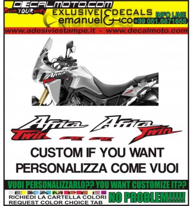 AFRICA TWIN CRF 1000 L CUSTOMIZE