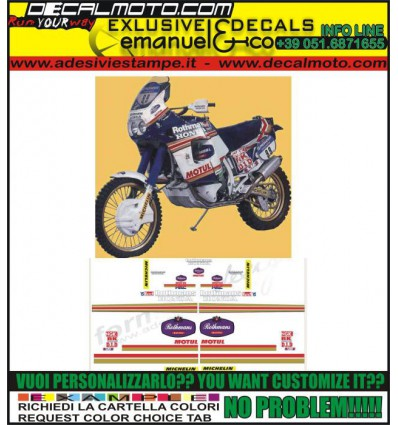 AFRICA TWIN XRV RD03 RD04 RD07 REPLICA ROTHMANS