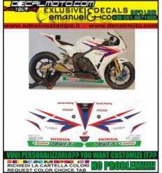CBR REPLICA 600 1000 RR F TEAM TENKATE 2012