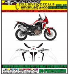 AFRICA TWIN CRF 1000 L 2016 RED WHITE BLACK