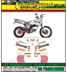 XT 660 Z TENERE 2008 - 2016 REPLICA DAKAR CHESTERFIELD
