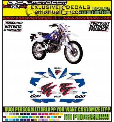 TT 600 E 1995 - 2000 4WL