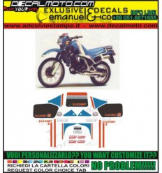 Kit adesivi decal stikers cagiva wmx 250 1989 union europe edition possibilit/à di personalizzare i colori