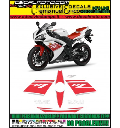 YZF R1 2008 COMPETITION WHITE