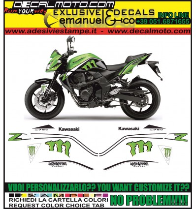 Z 750 2004 - 2012 MONSTER