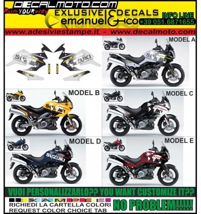 V-STROM DL 1000 2002 2009 WORLD