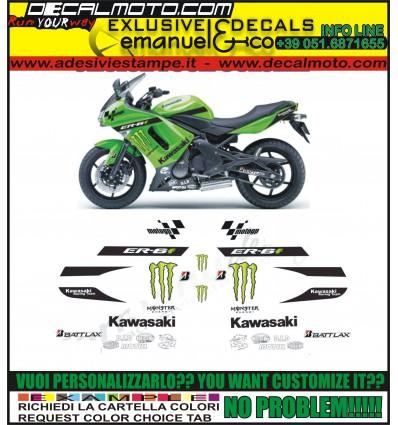 ER 6F REPLICA MOTO GP MONSTER ENERGY
