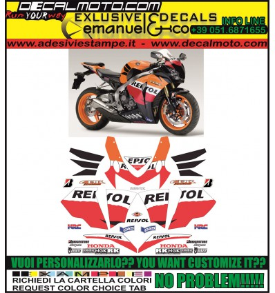 CBR 1000 RR 2011 REPSOL FIREBLADE