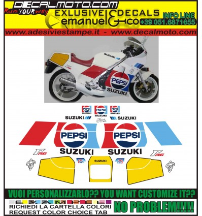 RG 250 GAMMA PEPSI VERSION