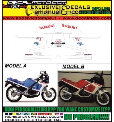 RG 250 GAMMA 1986 NAKED