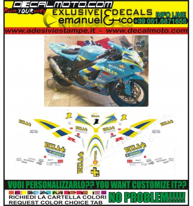 GSXR 600 750 1000 TEAM RIZLA BSB