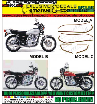 GS 400 E 550 750 1978