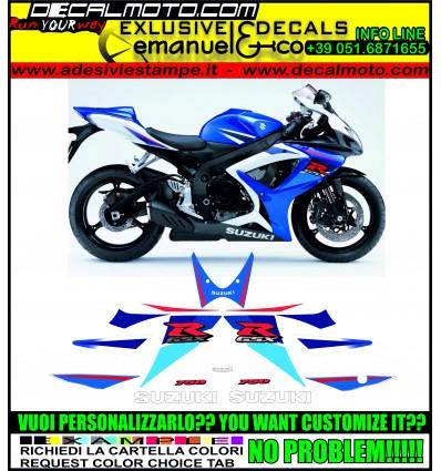 GSXR 750 2007 K7 BLUE