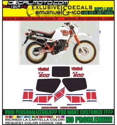 XT 600 Z TENERE 1983 34L