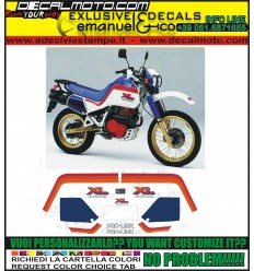 XL 600 LM 1987 MOTORE ROSSO