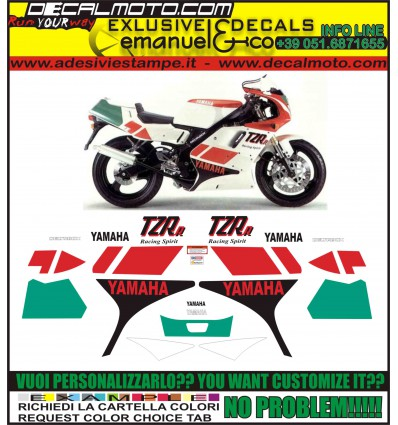 TZR 125 R SP 4DL 1992