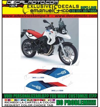 F650 GS 2011 30 TH ANNIVERSARY EDITION