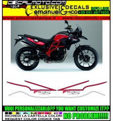 F700 GS 2015 RED BLACK