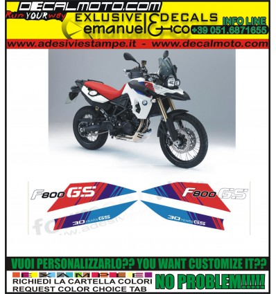 F800 GS 2011 30 YEARS GS