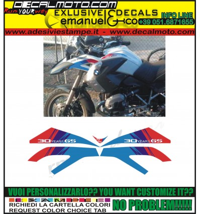 R1200 GS 2008 - 2012 30 YEARS GS PACK