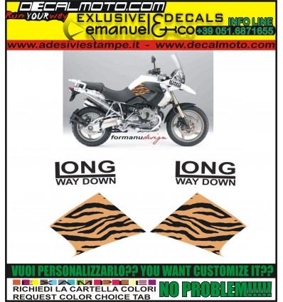 R1200 GS 2008 2012 LONG WAY DOWN TIGER