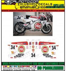 RGV 250 GAMMA 1991 1995 VJ22 TEAM LUCKY STRIKE 500 SCHWANTZ