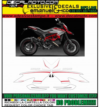 HYPERMOTARD 821 SP 2015 FULL KIT NO PAINT