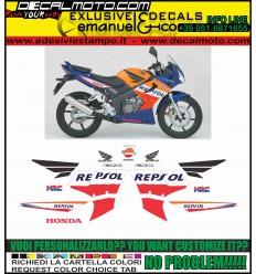 CBR 125 R 2005 - 2006 REPSOL