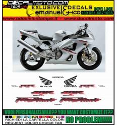 CBR 929 RR FIREBLADE 2001 SILVER
