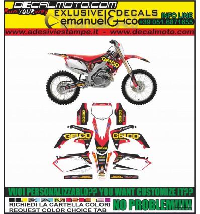 CRF 250 2010 - 2013 TEAM GEICO REPLICA