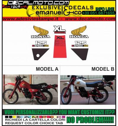 XL 125 S 1982 6 SPEED