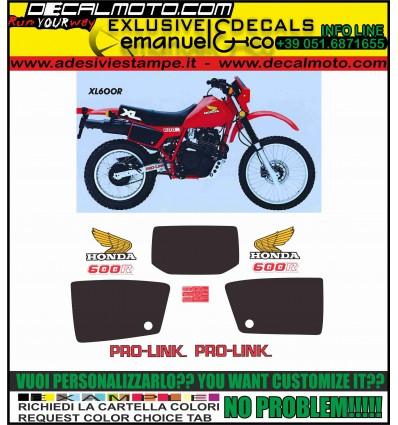 XL 600 R 1983 RED