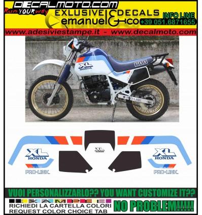 XL 600 LM 1987 MOTORE NERO
