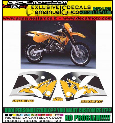 EXC ( SX ) 200 1997 JACK PINER LIMITED EDITION