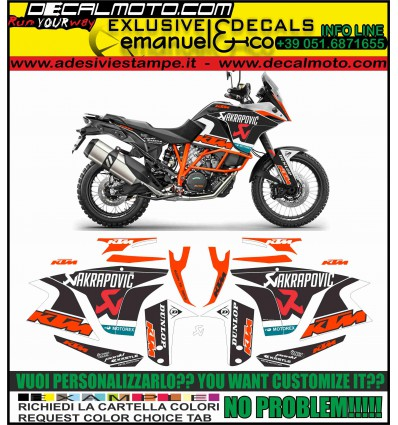 LC8 1190 1090 1050 ADVENTURE AKRAPOVIC