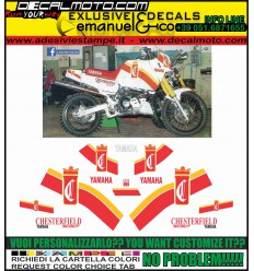 XT 600 Z TENERE 1985 REPLICA GAULOISES PARIS DAKAR