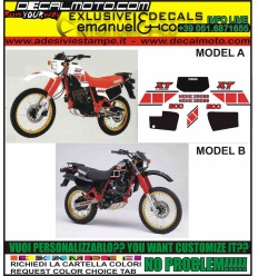 XT 600 K 43F 1984 - 1985