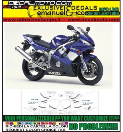 YZF R6 2001 BLUE
